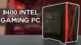 $400 Budget Gaming PC | i3 9100f + RX 580