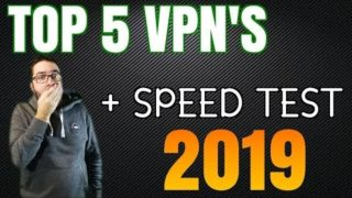 BEST VPN 2019!!   TOP 5 Services! Speed Tested !