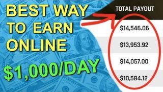 Best Way To Make Money Online (For A Beginner) In 2019 – $1,000 Per Day