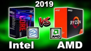 🔥 Intel Vs AMD 2019 🔥 Which is The Best CPU? 🔥 Desktop vs Laptop 🔥 Gaming, Video Editing (Hindi)