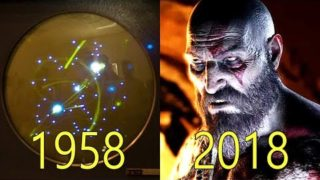 Evolution of Video Game Graphics 1958-2018