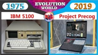 Computer Laptops Evolution 1975 – 2019