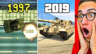 Reacting To THE EVOLUTION OF GTA! 1997 – 2019