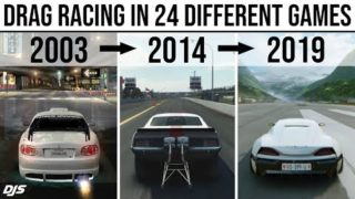 DRAG RACING IN 24 DIFFERENT GAMES (2003 – 2019)
