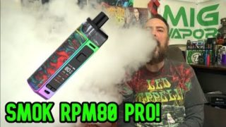 The New Smok RPM80 PRO Kit! | Best Pod Mod! | IndoorSmokers