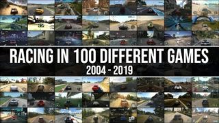 This Is What Driving In 100 Different Racing Games Looks Like!! 2004 – 2019