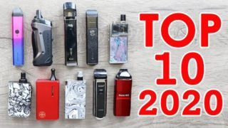 TOP 10 BEST POD SYSTEMS FOR 2020 [OVER 150 VAPE PODS TESTED]
