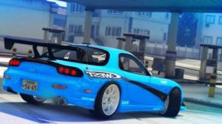 GTA 5 – MAZDA RX7 DRIFT MONTAGE (Drifting To The Gas Station)