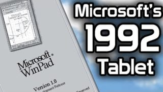 The History of Microsoft WinPad – The 1992 Tablet OS You've Never Heard Of
