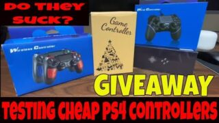 Buying & Testing Cheap PS4 PlayStation 4 Controllers From Amazon & Ebay- Any Good? Knockoff GIVEAWAY