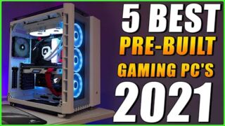 5 Best Pre-Built Gaming PC's Under $1000 – (For 2021)