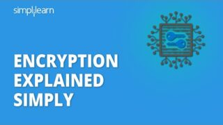 Encryption Explained Simply | What Is Encryption? | Cryptography And Network Security | Simplilearn