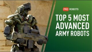 Top 5 Most Advanced Army Robots | Tank Robots, Robot Dogs, Unmanned Vehicles | Military Robots